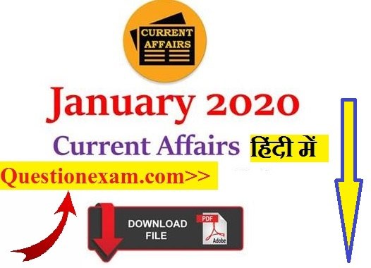 Talent Current Affairs in hindi 2020
