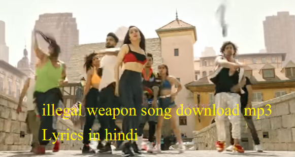 illegal weapon lyrics in hindi